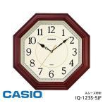 掛け時計 クオーツ スムーズ カシオ IQ-123S-5JF CASIO 掛け時計 クロック スムーズ秒針 お取り寄せ