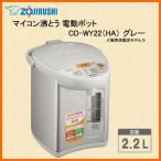 ZOJIRUSHI CD-WY22-HA グレー 象印 電気ポット マイコン沸とう電動ポット 2.2L 【販売店限定モデル】