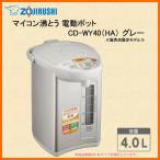 ZOJIRUSHI CD-WY40-HA グレー 象印 電気ポット マイコン沸とう電動ポット 4.0L 【販売店限定モデル】