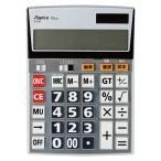 AC-00024393 アスカ ビジネス電卓 LL シルバーC1230