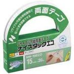 ds-1464445 (業務用10セット)ニチバン ナイスタックエコ NW-15ECO 15mm×20m (ds1464445)