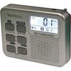 WINTECH 乾電池式ワンセグ対応デジタルラジオ TVR-P36 ラジオ
