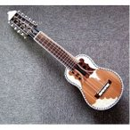 ds-1921428 【CHARANGO PRO QUISPE】民族楽器、ボリビア製 キスペ制作のチャランゴ プロ用★ソフトケース付 (ds1921428)