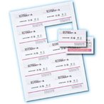 サンワサプライ JP-MC10-1 インクジェット名刺カード・厚手(ミシン目、A4、10面、100シート1000カード入り) (JPMC101)