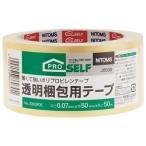 ds-2168554 (まとめ)ニトムズ 透明梱包テープ 50mm×50m J6030【×10セット】 (ds2168554)