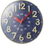 【納期目安:05/下旬入荷予定】MAG W-750-BU インテリア掛時計「MAG 電波ウォールクロック」(ブルー) (W750BU)
