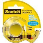 ds-2236892 (まとめ) 3M スコッチ はってはがせる両面テープ 19mm×10m ディスペンサー付 667-1-19D 1巻  【×30セット】 (ds2236892)