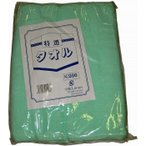 佐藤トレーデイング EBM-6769230 カラータオル 片平地付 #200(12枚入)グリーン 340×860 (EBM6769230)