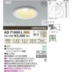 コイズミ AD71000L LED防雨防湿ダウン