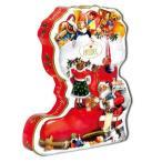 在庫限り 限定ノスタルジック ブーツ缶チョコ [チョコレート][HEIDEL]ドイツギフト・お菓子・クリスマス