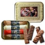 在庫限り 数量限定缶 缶入りチョコレートサブレ菓子 ルーブリアン 10個ルノワール「イレーヌ・カーン・ダンヴェール嬢」レーマン