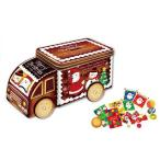 クリスマス メリースイーツ トラック缶[その他]クリスマスギフト・ティンボックス・貯金箱