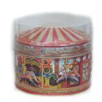 [輸入お菓子]缶入り チャーチル カルーセル赤缶(ファッジ&トフィー)チャーチルメリーゴーランド