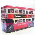 缶入り輸入お菓子 新ロンドンバス缶[Walkers]ウォーカー[その他]ビスケット・ギフト・ティンボックス・母の日・父の日・クリスマス・誕生日・プレゼント