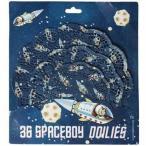 REX レースペーパー SPACE BOY   dot com gift shop男の子・ドイリー・パーティー