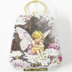 ミニバッグ缶 フラワーフェアリー ブラック キャンディダフト[Cicely Mary Barker]9802-822シシリーメアリーバーカー妖精