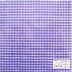 C-359 3枚 ペーパーナプキン ギンガムチェック バイオレット パープル 紫 paper design ペーパープラスデザイン デコパージュ 紙ナプキン