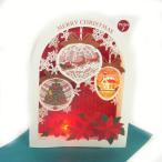 s5315 クリスマスライト&メロディカード 16曲入り [Sanrio]サンリオ・メッセージカード・立体カード