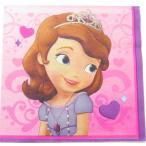 ペーパーナプキン[メール便OK] ちいさなプリンセス ソフィア ランチサイズ[Princess]1枚入り 紙ナプキン・ペーパーナプキン