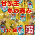 甘熟王 島の恵みミニバナナ約8.5kg前後(17袋)
