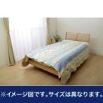 オールシーズン使用 キルトタイプ 洗える マルチカバー 正方形 『オリオン』ブルー 約190×190cm [13]