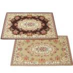 玄関マット 玄関 マット おしゃれ 室内 北欧 玄関ラグ カーペット 絨毯 洗える ペルシャ 花柄 アンティーク 60×90 滑り止め