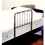 ベッドガード ハイタイプ ブラウン 茶色 ベッド すのこベッド マット マットレス 木製 シングル 寝具 睡眠 快眠 安眠 収納 引き出し 子供 ジュニア部屋 送料無