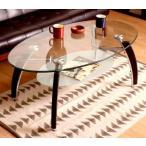 センターテーブル ローテーブル ガラス ディスプレイ 棚付き ブラウン 茶色 ガラステーブル ガラス リビングテーブル ダイニングテーブル ちゃぶ台 ロ