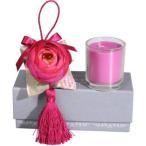 ピンク アロマキャンドル テーブルライト ロウソク お香 ティーライト 間接照明 テーブルランプ フレグランス プレゼント ギフト 贈り物 北欧 フレンチシャビー