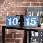 西海岸 レトロ アメリカン ブルックリン 掛け時計 置き時計 掛時計 置時計