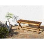 ガーデンベンチチェア長椅子おしゃれ屋外カフェテラス庭ベランダバルコニーアジアン(2P)