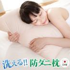 枕 防ダニ まくら 43×63 日本製 快眠