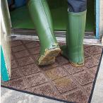 玄関マット エントランスマット 玄関敷き(屋外専用)  コイヤーマット 屋外 洗える モダン 屋外用 ゴム 玄関シート :gm-kc75x90