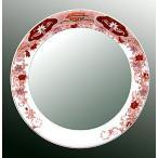 ショッピングミラー 鏡、ミラー、壁掛け鏡、ウオールミラー(有田焼 伊万里焼 陶器 磁器):yt-w400h400-2.5k-ts(フレームミラー 壁掛け 壁付け 姿見 姿見