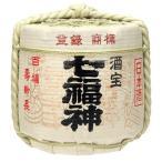 樽酒 1斗樽 中身5升(9L) 菊の司酒造の日本酒「七福神」 菰樽