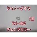 送込 シマノ → ダイワ ハンドル ナット径 チェンジ カラー 7*5→8*5穴 アダプター 香川塩ビ工業 スペーサー アダプタ アジャスタ