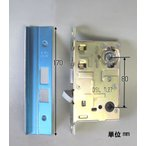 MIWA(美和ロック) 段付きフロントプレート LAMA・13LA レバーハンドル向け 交換 錠ケース