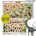 2019年度 コイズミデスクマット YDS-850KK 小学館の図鑑NEO 恐竜 世界のカブトムシ・クワガタムシ 学習机用