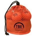 12個セット TOBIEMON 2ピース カラーボール メッシュバック入り オレンジ TBM-2MBOX12