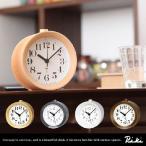 リキクロック リキ 渡辺力 RIKI ALARM CLOCK 時計 置き時計 目覚まし時計 クロック 子供 木枠 インテリア アンティーク アラーム プレゼント ギフト ウッド