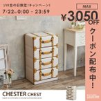 CHESTER CHEST チェスト 収納 収納家具 トランク レトロ