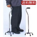 4点支柱杖 伸縮杖 松葉杖 ツエ つえ アルミ製 ステッキ 軽量 安定 福祉 介護用品 福祉用品 歩行器 リハビリ 健康 ウォーキング シルバー 男性 女性 右 左