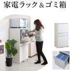 キッチン 家電 収納 ごみ箱 2分別 幅57.5cm 高さ118cm