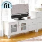 ショッピング完成品 テレビ台 完成品 白 ホワイト TV台 おしゃれ テレビボード ロータイプ 安い 木製 fit フィット