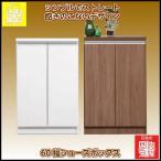 安心の日本製 シンプルでストレート 飽きのこないデザイン60幅シューズボックス ベンツL(玄関収納、下駄箱、シューズラック)