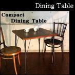 送料無料 ウッドとアイアンでできたアンティーク調のお洒落なコンパクトサイズ ダイニングテーブル カフェテーブル レトロ 食卓 新生活
