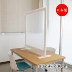 飛沫ガードパネル 市販のポリ袋で使用可能 コロナ対策 飛沫予防 拡散軽減 日本製 業務用  幅83cm 奥行30cm 高さ94cm TM-0168