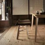 和風木製スツールチェアー業務用家具店舗用家具 飲食店チェア業務用椅子 nami-stool