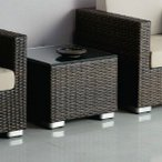 ガーデンソファー用サイドテーブル業務用籐ラタン風rhodes-stable