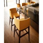 カウンターチェア片肘付ハイチェア木製業務用家具店舗用家具 rxl-ch